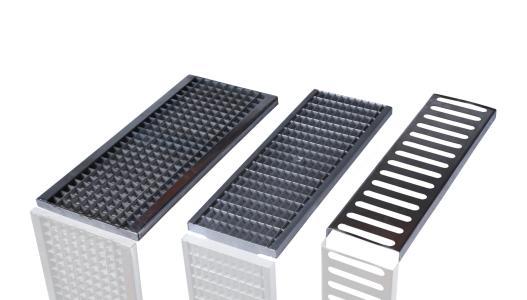 304不锈钢缝隙式线性排水沟盖板
